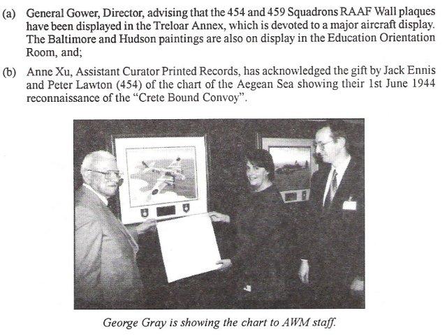 George Gray at AWM