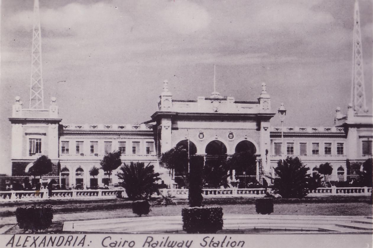 Egypt Cairo Central railway station