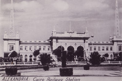 Egypt Cairo Central railway station