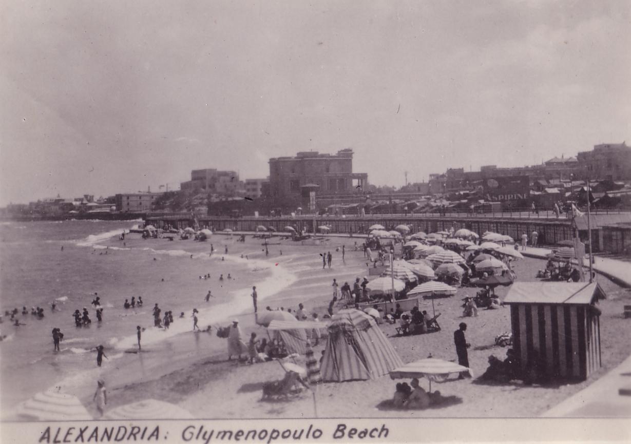 Egypt Alexandria Glymenopoulos Beach