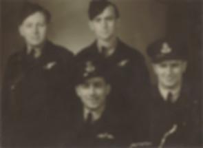 L-R  J. Hughes, J. MacMahon, G. Levy, A.