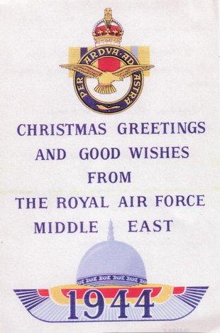 Christmas Greetings 1944