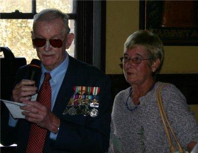 John McKenzie & Penny Grifiths speech