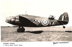 Hudson_Lockheed Wright Cyclone Engines