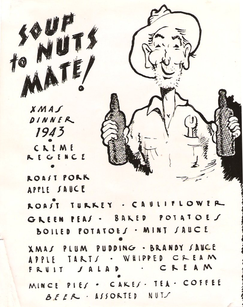 Soup to Nuts Xmas Dinner 459_1943