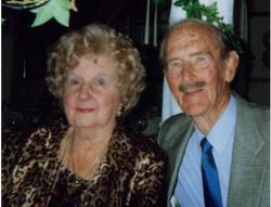 Joy & Reg Nossiter in 2000