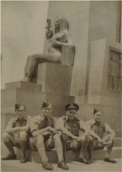 Group Photo on leave in Alexandria Feb.1944
