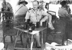 On leave Palestine Aug Sept.1942  It has a title Arthur Magnus at Home