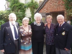 Noggin & Natter, Firecrest Pub,Wendover,  Bill, Loraine,Janet, Penny & Tom