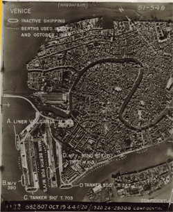 Venice aerial photo - Northern Italy 19 Oct 1944