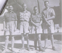 Benhjazi  left to right Coote Brindle Springthorpe & Ringrose