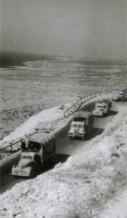 1942  Convoy from Plaestine to Iraq