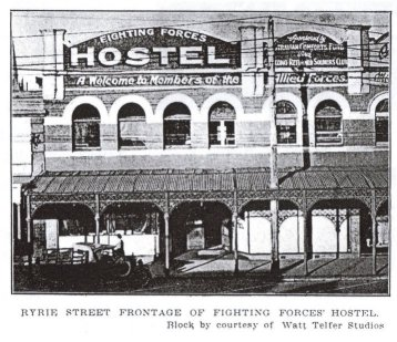 Fighting Forces Hostel Ryrie Street Geelong