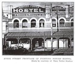 Fighting Forces Hostel Ryrie Street Geelong