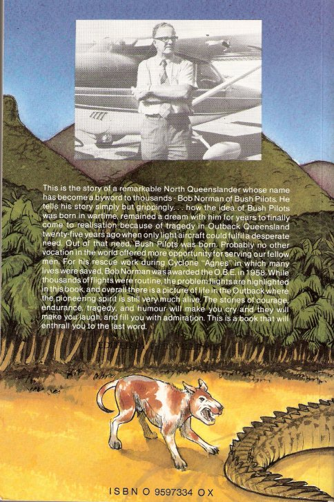 Bush Pilot back cover