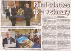 The Cairns Post Final Tributes to a visionary