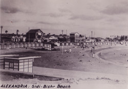Egypt Alexandria Sidi Bishr Beach
