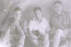 Jack Springthorpe George Ringrose and Colin Coote