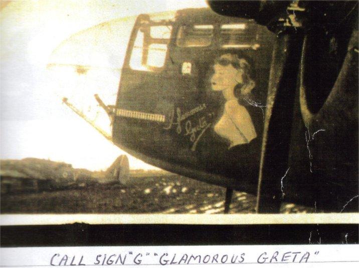 454 Squadron Plane Glamorous Greta