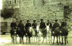 Donkey tour of Jerusalem district