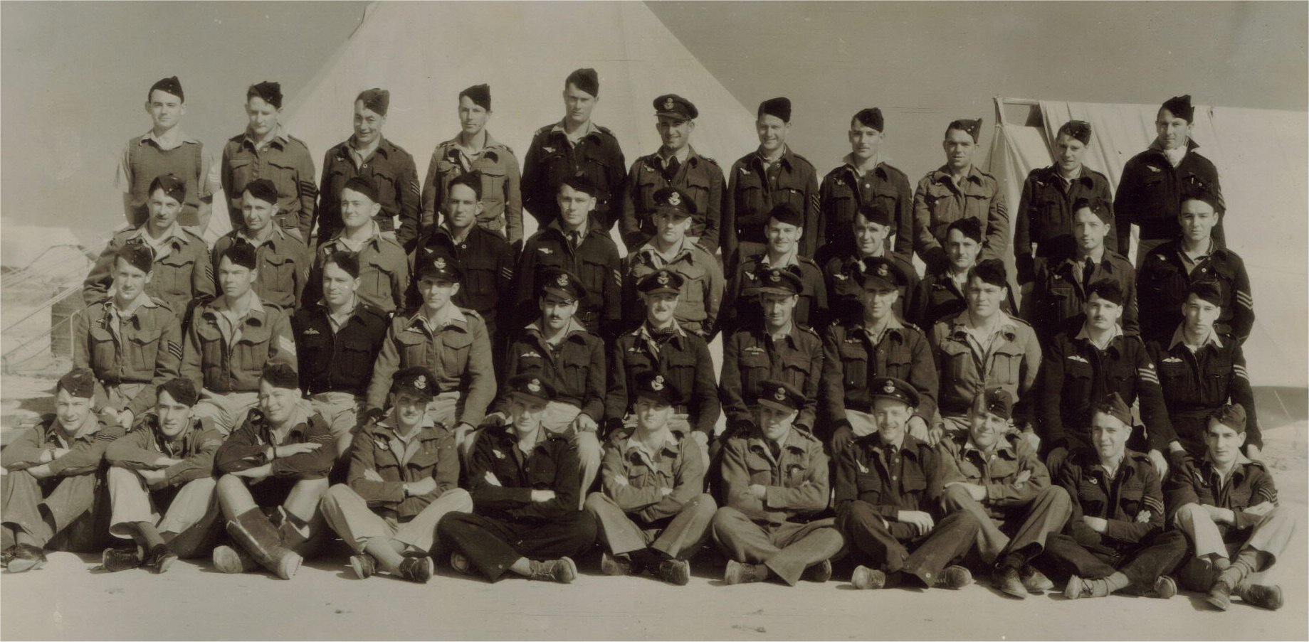 459 Squadron MEF 1942-43 B Flight Aircrew