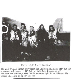 JH Simmonds and crew 26 Jan 1945