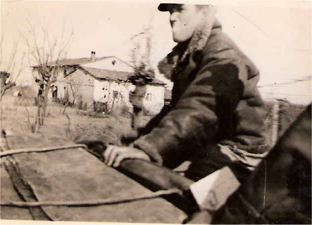 Bill on a Polish carrier front line