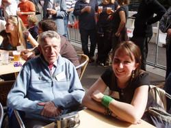 David Etheridge and his granddaughter 250406