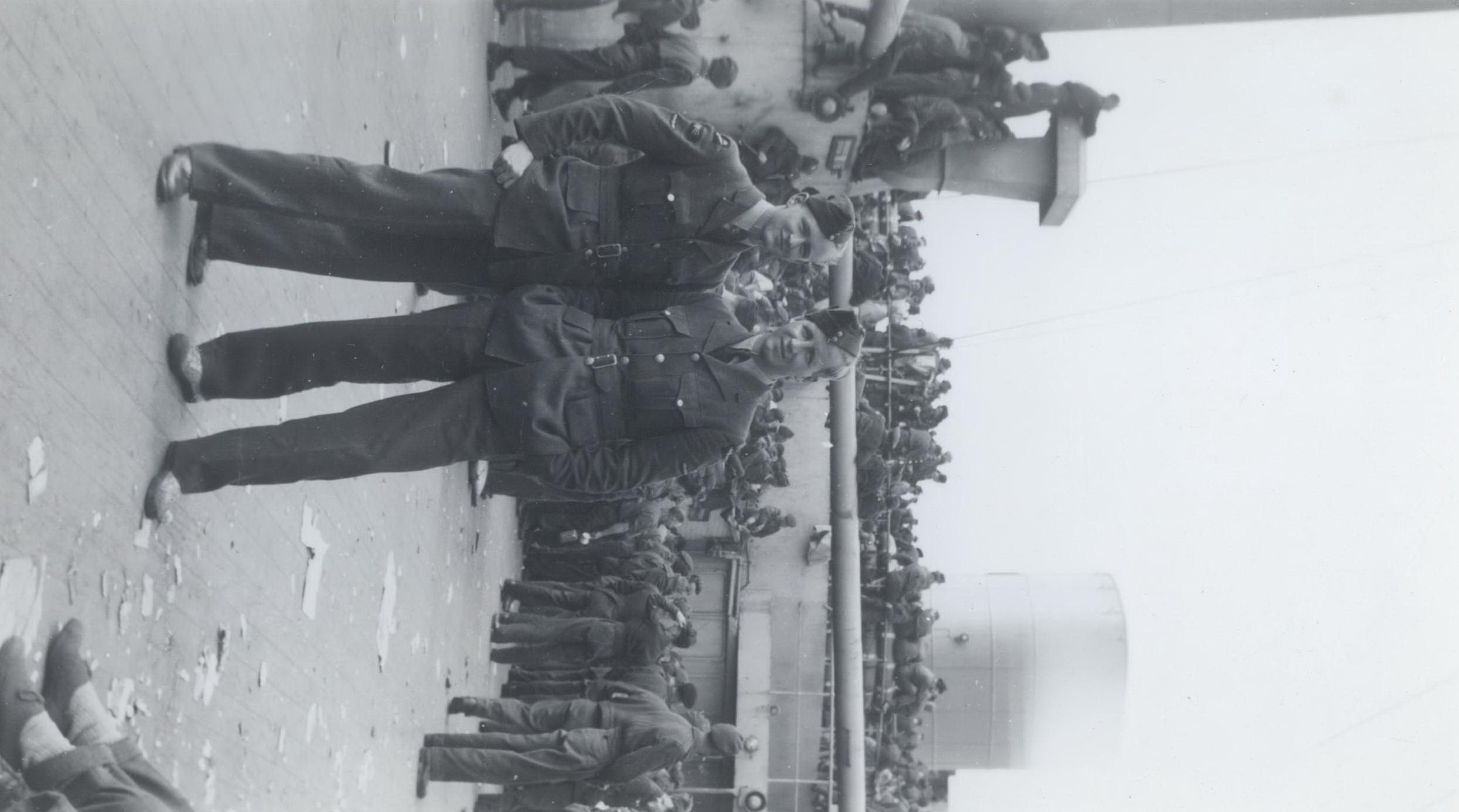 Home to Toronto Sep 1945