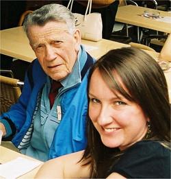 David Etheridge & his granddaughter Jess