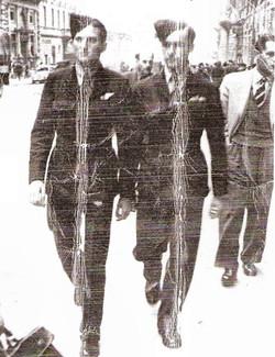 Bob Mitchell Rome April 1945