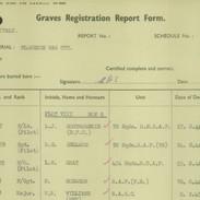 Lemuel Gray grave registrations report f