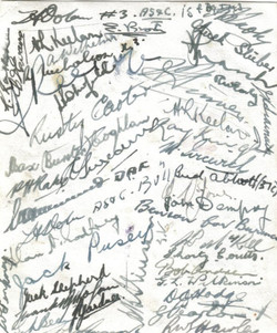 Signatures Toast Sgts Mess 454 _1945_Keelan page