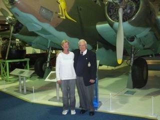 Penny & Tom the Pom at RAF War Museum Hendon UK 2008