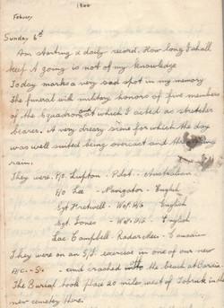 William (Bill)  Robinette diary