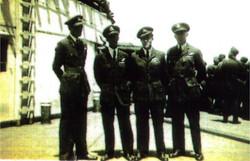 Crew photo ready to go home
