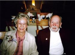 Ross & Beryl Singleton on her 84th birthday