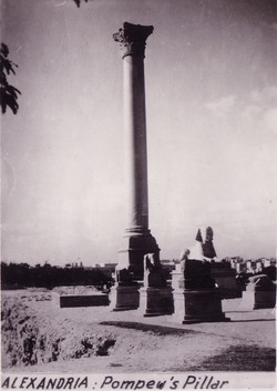 Egypt Alexandria Pompew Pillar