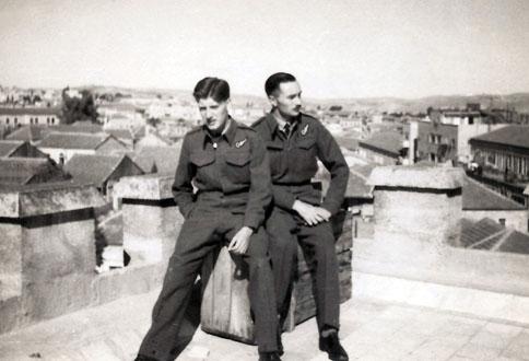 Couzens & Hayes in Jerusalem