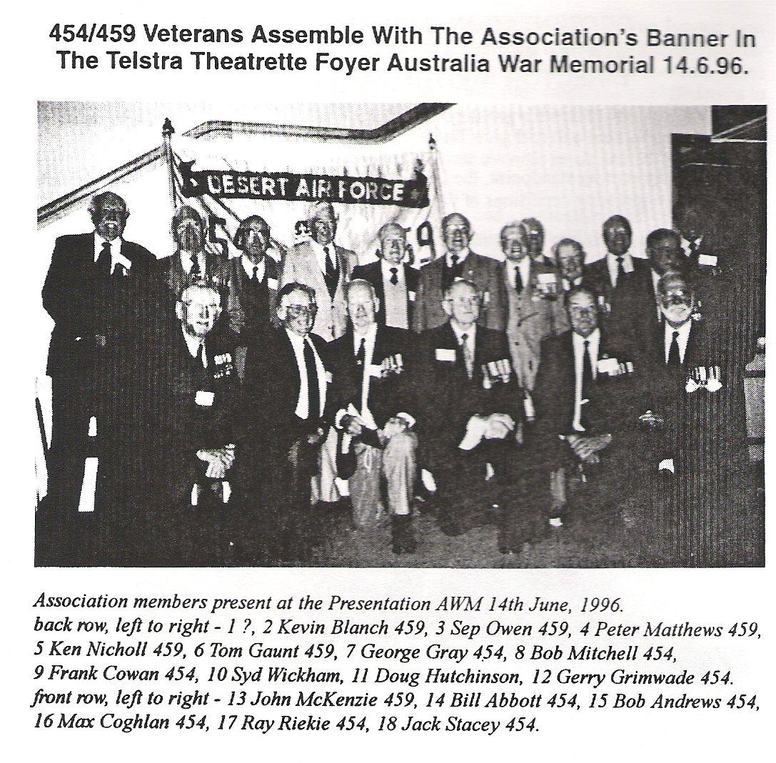 454 459 Vets Assemble 1996