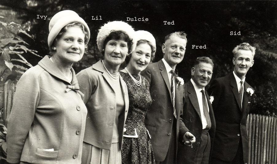 Sid Gradidge Family