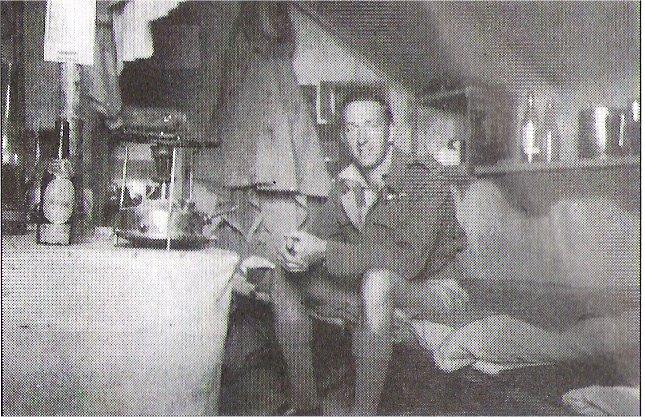Storman in tent G