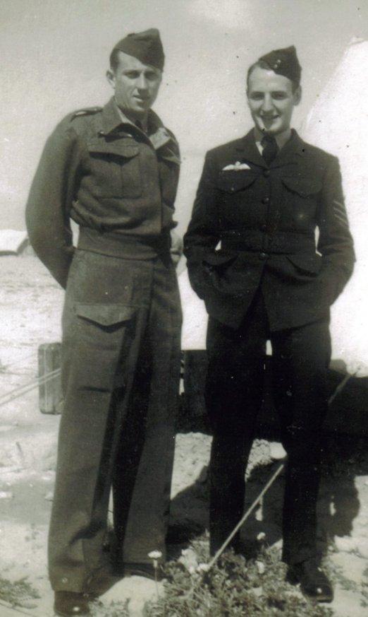 Mal Stevenson and Reg Curry