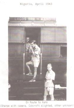 Train Nigeria April 1943 enroute to Kano