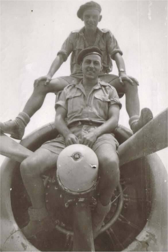 Berka111 Libya,June 1944 Laurie Crowhurst and Bill Noyce