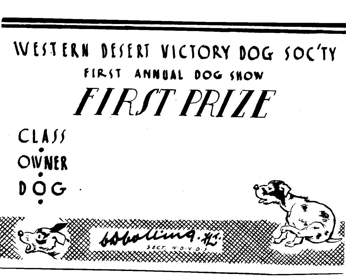 Desert Victory Dog Socty