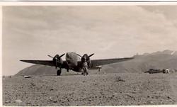 Hudson 't' for tommy on Socotra Island Yemen 8 dec 42