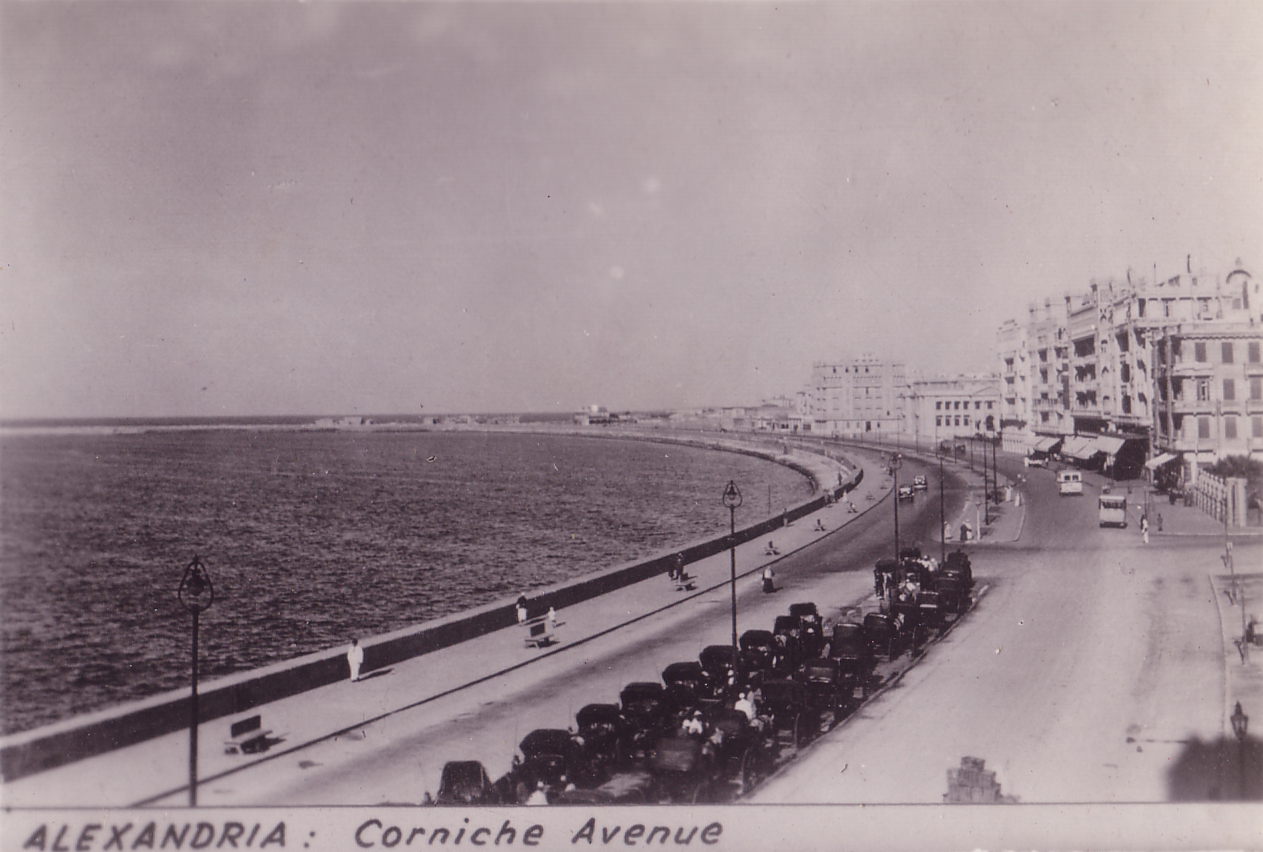 Egypt Alexandria Corniche 1