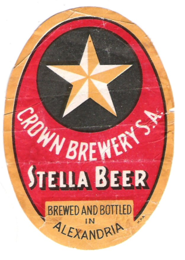 Stella Beer Alexandria label
