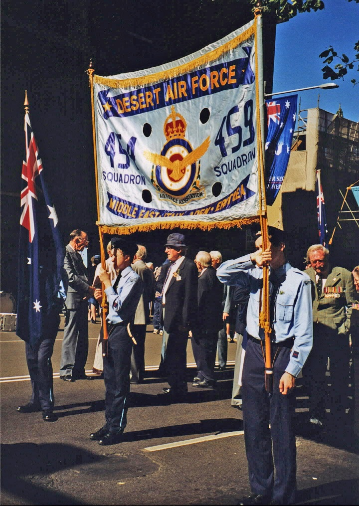 Anzac Day 454 and 459 squadron